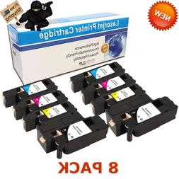 8Pack E525W Toner Cartridges H3M8P VR3NV WN8M9 MWR7R Ink for