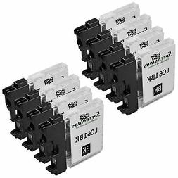 8pk For Brother LC61Bk Black for DCP MFC Printers LC61 Serie