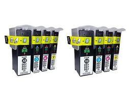 8x For Lexmark 100 XL Ink Cartridge BK/C/M/Y 2 Each Intuitio