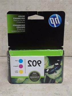 HP 902 Cyan/Magenta/Yellow Original Ink Cartridges EXP 08/20