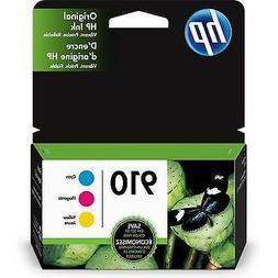 HP 910   3 Ink Cartridges   Cyan, Magenta, Yellow   3YL58AN,
