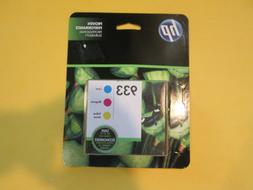 HP 933 COMBO-PACK Ink Cartridges CYAN MAGENTA YELLOW BRAND N