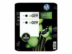 HP 950XL Black 2-Pack Ink Cartridges CR317BN Genuine, New, E