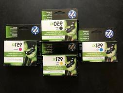 HP 950XL Black and 951XL Magenta, Cyan, Yellow Ink Cartridge