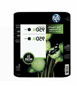 HP 950XL Ink Cartridges Exp Mar/2022  Black - Pack of 2