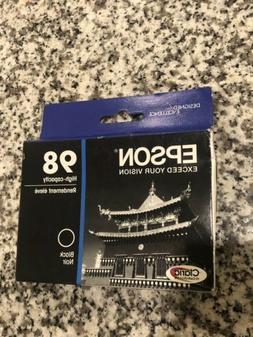 Epson 98 High-Capacity Ink Cartridges, Black, Unopened EXPIR