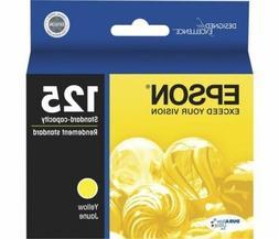 Epson T125420 DURABrite Ultra Yellow Standard Capacity Cartr