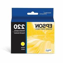 Epson T220420 DURABrite Ultra Yellow Standard Capacity Cartr