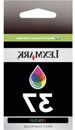 Lexmark No 37 Color Return Prog Print Cartridge