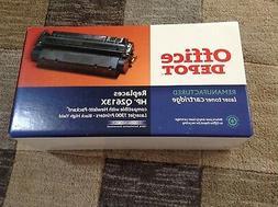 A New Printer Black Ink Cartridge For A HP Laserjet 1300 Ser