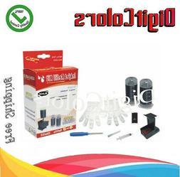 Black ink cartridge Refill bottle tool box kit for canon PG-