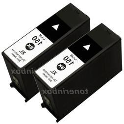 2pk New 150XL BLACK Ink Cartridge For Lexmark 150 Pro715 Pro
