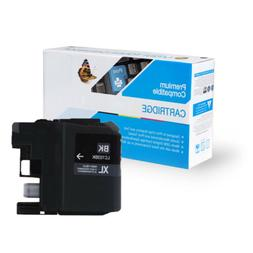 2 Pack of Quality BLACK Ink Cartridges for BROTHER LC103BK,