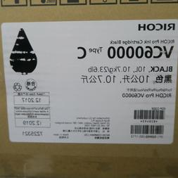 Black Pro Ink Cartridge 10L RICOH VC60000 Type C Fresh Stock