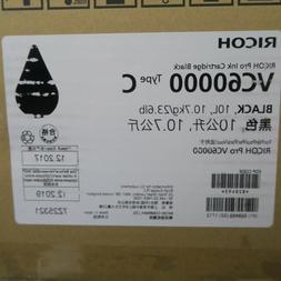 Black Pro Ink Cartridge 10L RICOH VC60000 Type C Fresh Stock