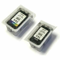 Brand New SEALED Canon PG-243 Black and CL-244 Color Ink Car