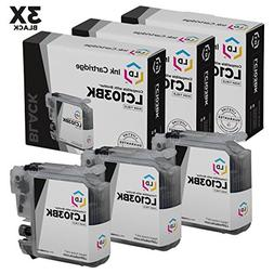 Brother Compatible LC103 Set of 3 Ink Cartridges: 3 Each of