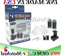 Cartridge refill ink for printer hp 62/63/64/65- Black