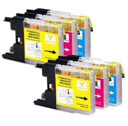 Color Ink Cartridges Compatible for Brother LC75 MFC-J430W M