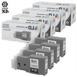 compatible canon pfi 207bk 8789b001 4pk high