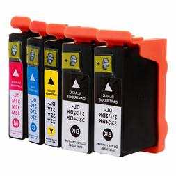Compatible Dell Serie 31 32 33 34 High Yield Ink Cartridges