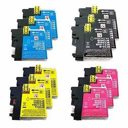 PerfectPrint Compatible Ink Cartridge Replacement for Brothe