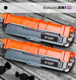 Compatible Brother TN221BK Black Toners Cartridge 2 Pack Ton