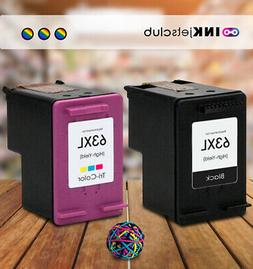 Compatible with HP 63XL Ink Cartridges Fits Printer Models F