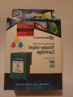 Dataproducts One Tri Color Ink Cartridge Remanufactured. Rep