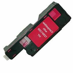 DELL Magenta Red 1250C 1355CN 1350CNW C1760 C1765 Toner Ink