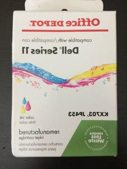 Office Depot Dell Series 11 Remanufactured Color Ink Cartrid