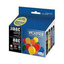 Epson DURABrite Ultra 288  Black/Tricolor Ink Cartridges (Co