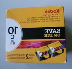 Kodak 1022854 Company Color10c Ink Cartridge Two-Pack