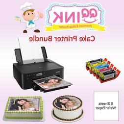 Edible Printer Bundle Canon Printer W/ Wafer Paper & Edible