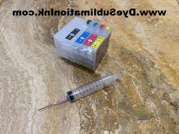Empty Refill Ink Cartridges For #252XL WF-7210 WF-7710 WF-77