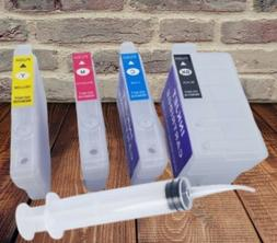 Empty Refillable Ink Cartridges For Epson WF-7210 WF-7710 WF