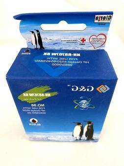 G&G NH-R9362W Black Ink Printer Cartridge HP Deskjet New