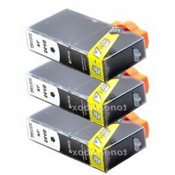 3Pk Generic Ink Cartridge For HP 564XL Black PhotoSmart 7510
