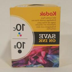 Genuine Kodak 10B 10C Ink Combo Pack Orignal 10 Black & Colo