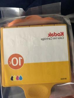 Genuine Kodak 10B Black and 10C Color Ink Cartridges