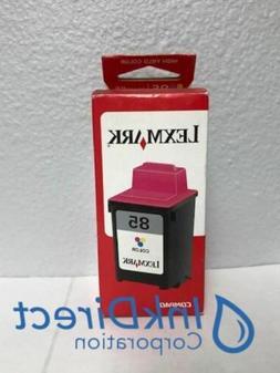Genuine Lexmark 12A1985 Lex 85 Ink Jet Cartridge Color 7200V