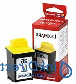 Genuine Lexmark 15M0125 Lex 25  Ink Jet Cartridge Color P707