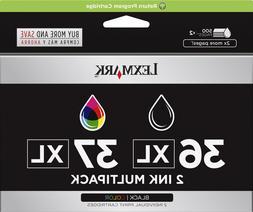 New Genuine Lexmark 36XL 37XL 2PK Ink Cartridges Z Series Z2