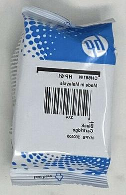 Genuine HP 61 Black Ink Cartridge in Foil Bag