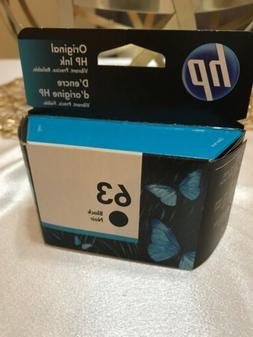 Genuine 63 Black Ink Cartridge HP Envy 4512 4516 4520 3830 4