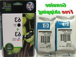 Genuine HP 63 Black/Tri-color Original Cartridges-HP5255 465