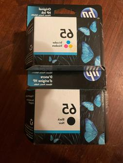 HP Genuine 63 Black + Color set of 2 Ink Cartridges