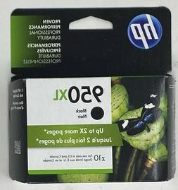 GENUINE HP 950XL Black Ink in Retail Box Expires