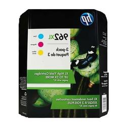 HP Genuine 962XL Ink Cartridges Cyan Magenta Yellow EXP 01/2