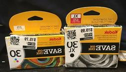 Genuine Authentic Kodak 30XL Black & 30 Color Ink Cartridges
